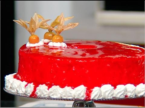 كيكه اسفنجيه خاليه الدسم على طريقة الشيف #غفران_كيالي من برنامج #هيك_نطبخ #فوود
