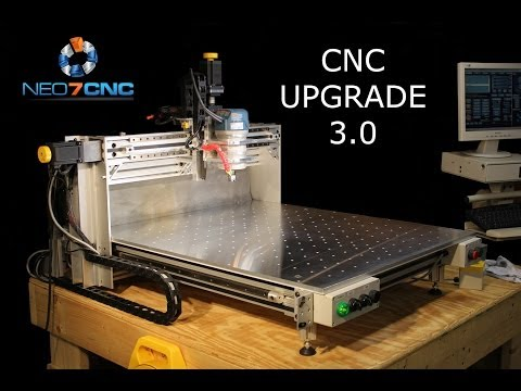 Homemade DIY CNC - Larger CNC 3.0 - Part 1 - Ver 2.0 Review - Neo7CNC.com