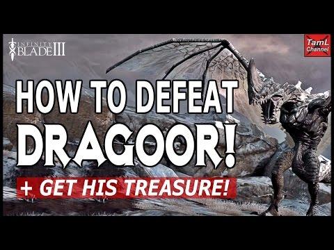 Infinity Blade 3: HOW TO DEFEAT DRAGOOR + GET HIS TREASURE!