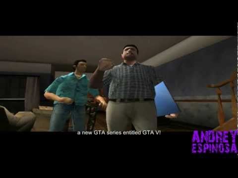 GTA 5 Announced - All GTA Protagonists
