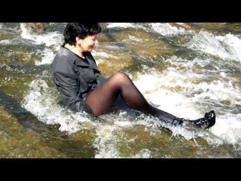 wetlook danka1 wet black pantyhose