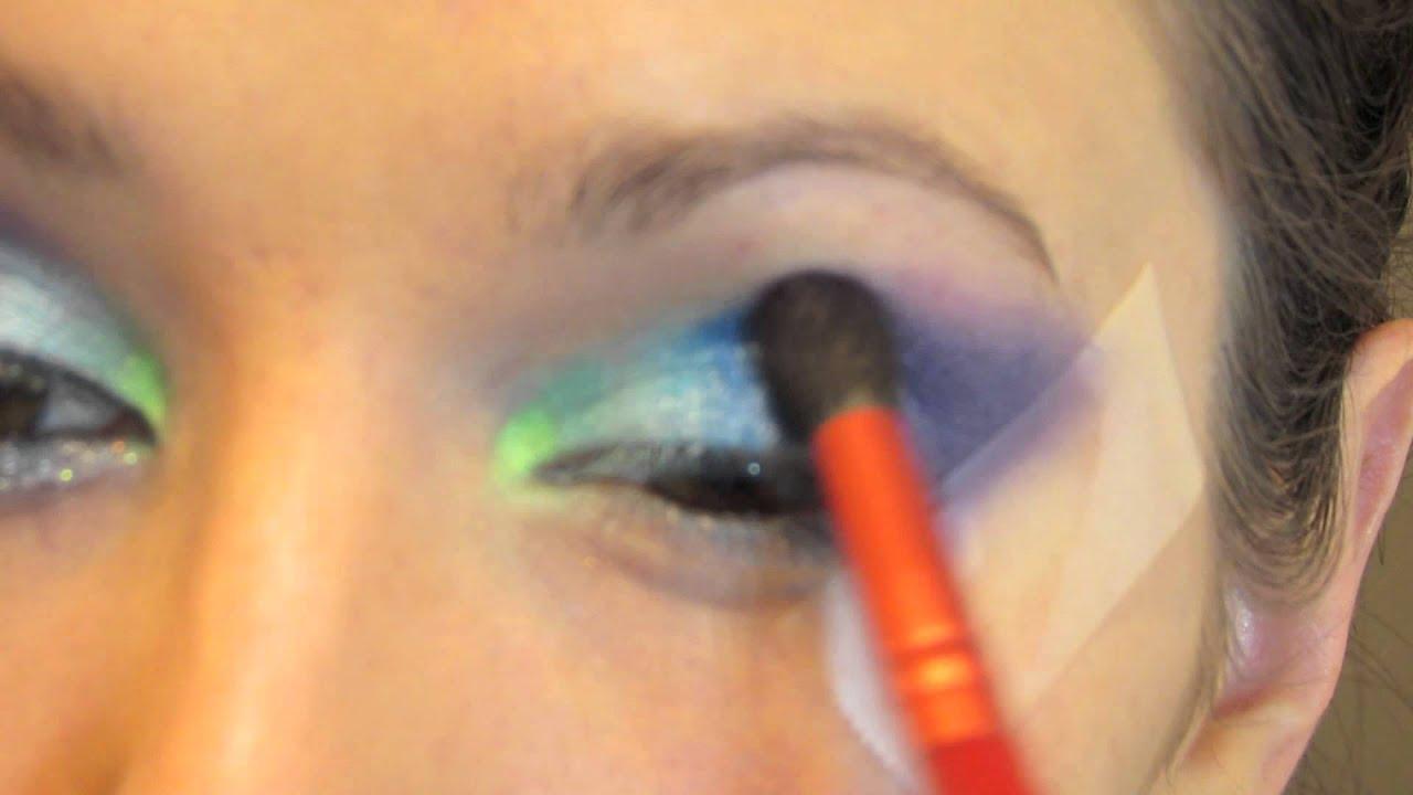 Rainbow Fish Makeup Rainbow Fish Inspired Cat Eye