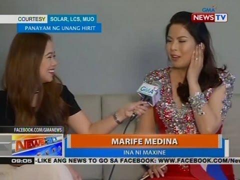 Ina ni Maxine Medina, magkahalong kaba at excitement ang nararamdaman