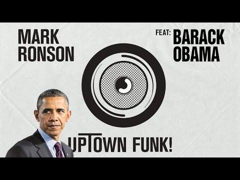 Barack Obama over-dubbed on Uptown Funk