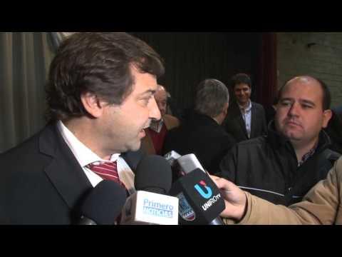 Juan Jure   sesion interlegislativa del gran rio cuarto