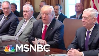 President Donald Trump Now Says It's 'Unlikely' He'll Meet With Mueller | The 11th Hour | MSNBC