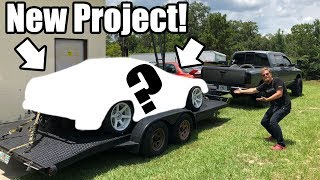 Traded the 350Z For An Abandoned Drift Car Project!! (Will It Run!?)