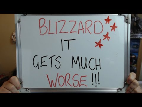 BLIZZARD: It Gets MUCH Worse as BLIZZCON Looms!!