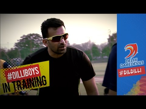 Zaheer Khan coaches the youngsters  |  #DILLIBOYS IN TRAINING