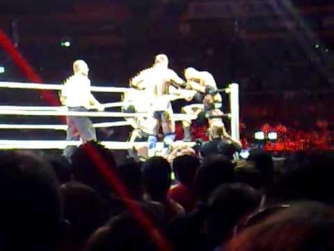 The Miz, Sheamus, Batista vs. Big Show, Randy Orto
