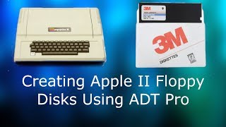 How to Create Floppy Disks for the Apple II