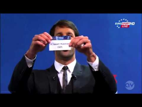 Uefa Champions League 2013 Semi-Final Draw 12-04-2013