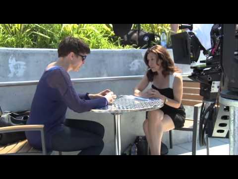 Behind the scenes – Mia Wasikowska and John Cusack Maps To The Stars