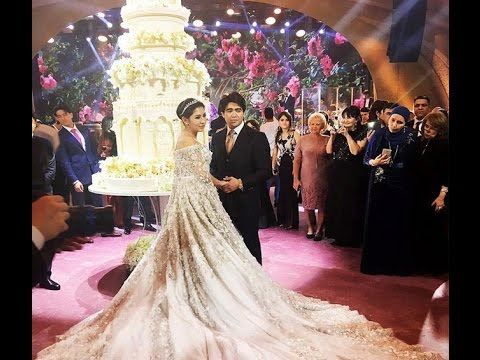 b20fe6f2fc0 Most Expensive Wedding Of The World - YouTube