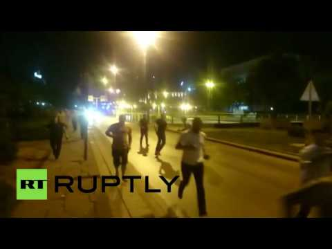 Turkey Coup: Shots fired, people out on streets fleeing