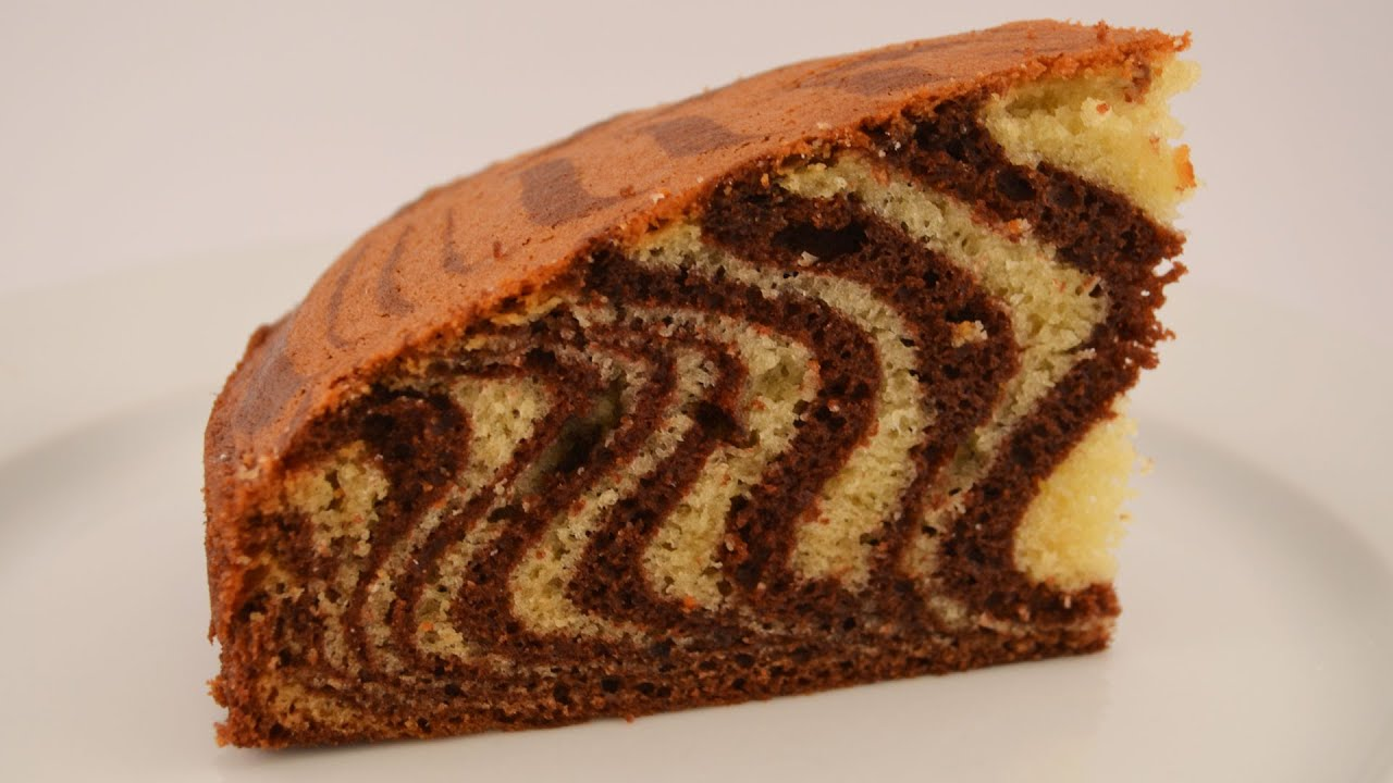 Пирог зебра рецепт с пошаговым фото
