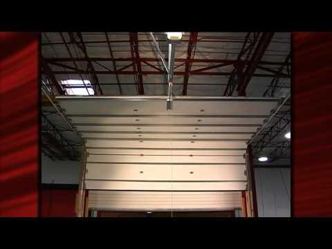 Genie garage door opener lifts 14 39 high door youtube for 14 foot tall garage door