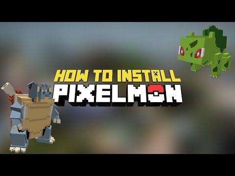 Minecraft - How to install pixelmon mod 1.10.2 (Beta: 5.0.0) - Update