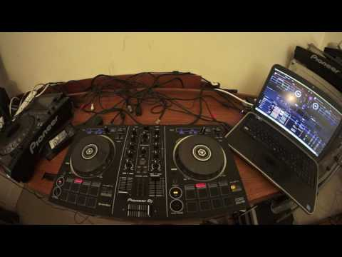 PIONEER DDJ--RB AND REKORDBOX FOR THE NEW BEGINNER DJ loading a track