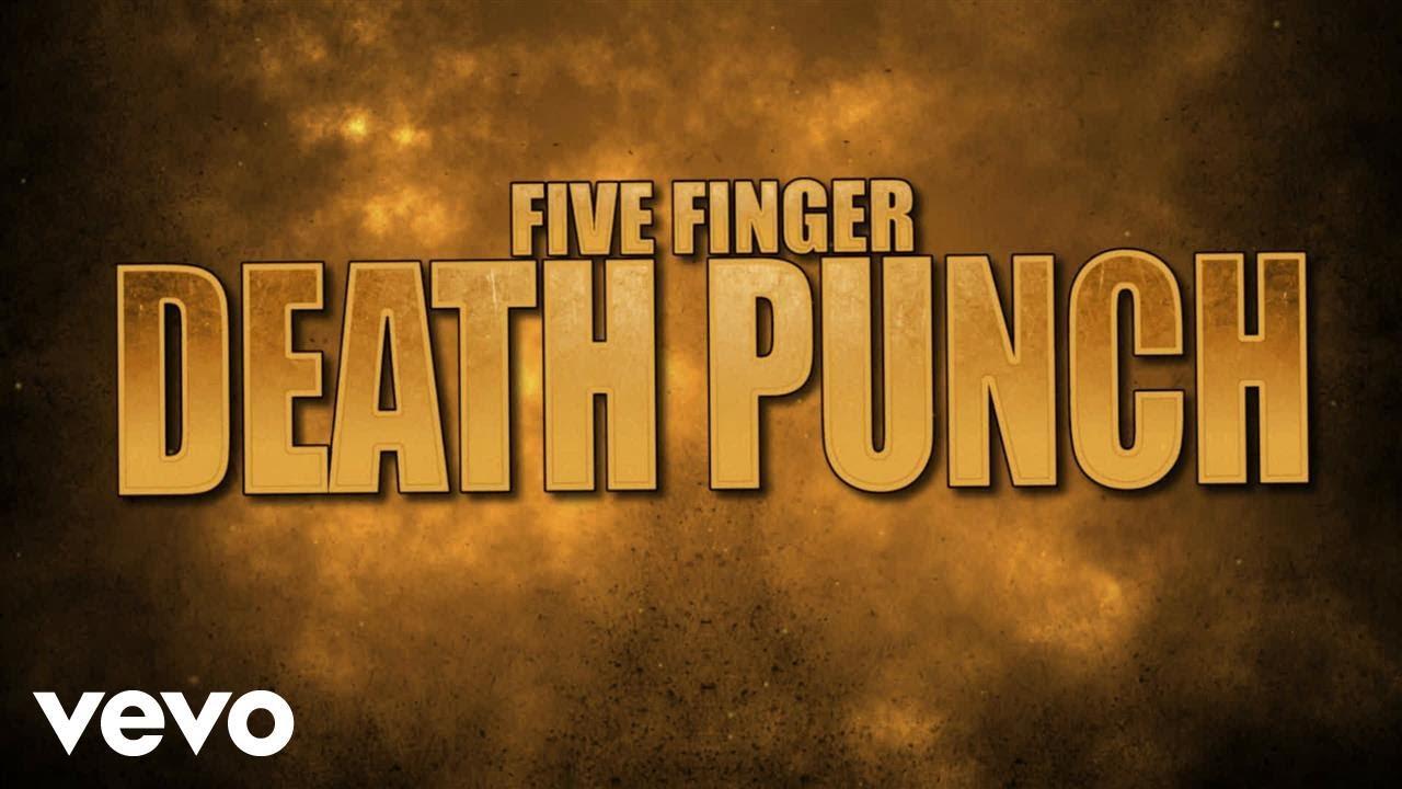 Five Finger Death Punch - Gone Away (Lyric Video)