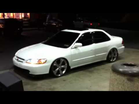 Honda Accord Vs Toyota Camry >> My 2000 accord with venza rims - YouTube