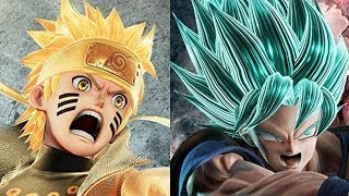 JUMP FORCE - Super Saiyan Blue Goku, Yu-Gi-Oh! & Characters Gameplay Trailer