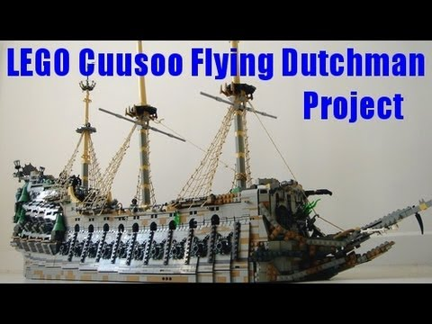 lego cuusoo flying dutchman project by sebeus youtube. Black Bedroom Furniture Sets. Home Design Ideas