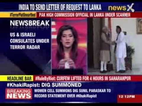 Pakistan using Sri lankan soil for proxy attack on India