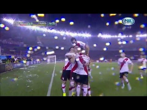 River Plate 3 - 0 Tigres Copa Libertadores 2015