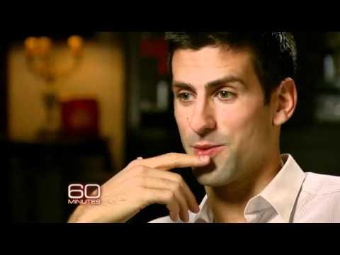 60 minutes Novak Djokovic