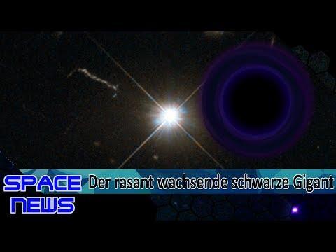 Astronomen entdecken am schnellsten wachsendes supermassereiches Schwarzes Loch! [Space News]