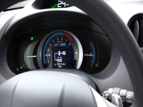 Driving Honda Insight
