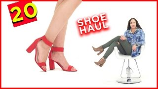 Ultimate Shoe Haul 2017 ! 20 Spring Shoe Trends, Boots, Heels, Sandals,  2017 Spring Shoe Trends