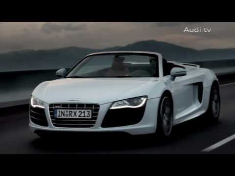 Audi R8 V10 Spyder Promo