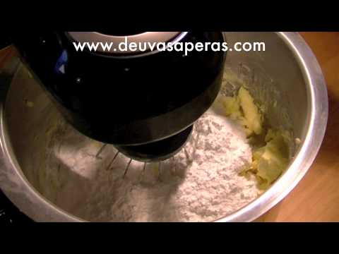 Como Hacer Crema de Mantequilla (Receta de ButterCream)