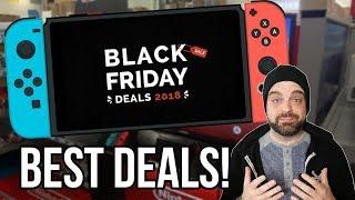 BEST Black Friday 2018 Nintendo Switch DEALS! | RGT 85