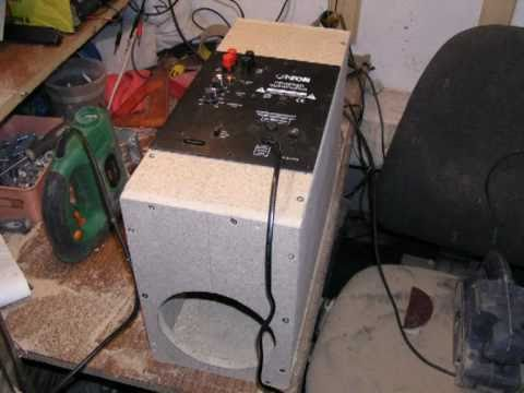 Bass I love you. Subwoofer DIY Unitra Tonsil + Canton czytaj opis...