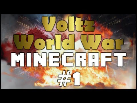 Voltz World War Minecraft Faction Base S2E1