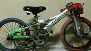 Kroni basikal lajak kecik