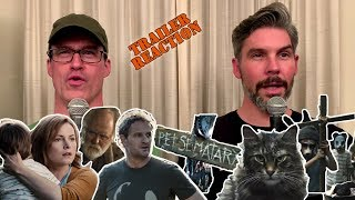Pet Sematary Official Trailer REACTION!!!