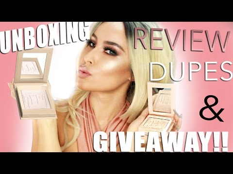KYLIE COSMETICS KYLIGHTER REVIEW   GIVEAWAY   DUPES