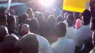 DC protest for the death of Ethiopian Ali Mohammed At Club DC9 Video by Ethiopian News
