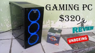 $320 Ryzen 5 Cheapest Gaming PC Build - PC Mark & 3D Mark Test - Where to Buy