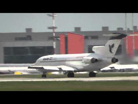 Iran Air Иран Rare Боинг Boeing 727 EP-IRR landing посадка takeoff взлет UUEE