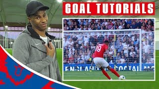 How to Shoot Like Marcus Rashford! | Goal Tutorials | Rashford vs Costa Rica