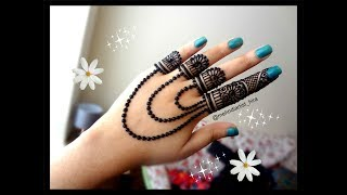 Most Famous,easy and beautiful jewellery henna mehndi Design for hands for diwali,eid,weddings