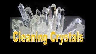 HOW TO - Cleaning Crystals | Liz Kreate