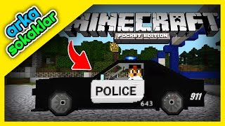 Arka Sokaklar Polisiye Eklentisi MCPE Android, iOS ve Windows 10 Minecraft PE