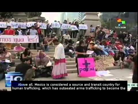 Human trafficking a growing problem in Mexico