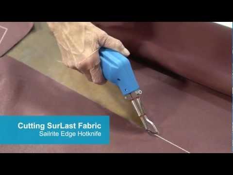 Sailrite Edge Hotknife Package Demo Video